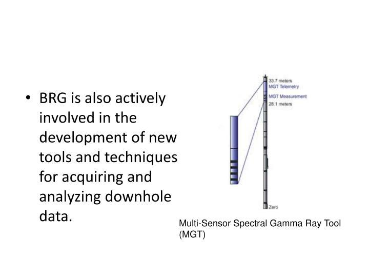 Multi-Sensor Spectral Gamma Ray Tool (MGT)