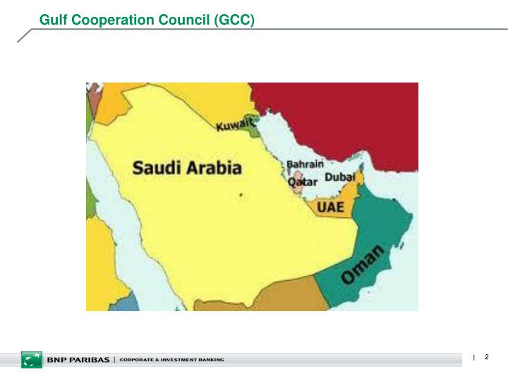 Gulf cooperation council gcc