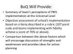 boq will provide