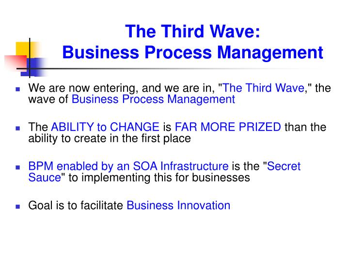 The Third Wave: