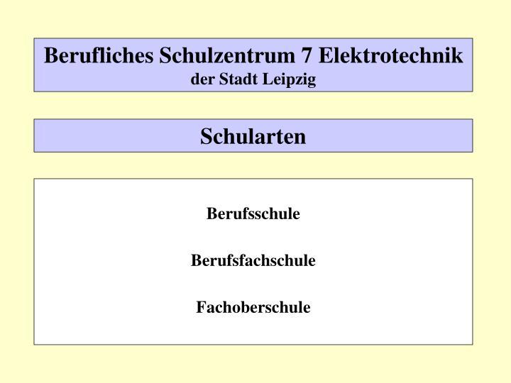 Berufliches Schulzentrum 7 Elektrotechnik