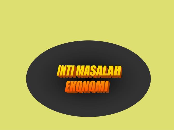 INTI MASALAH