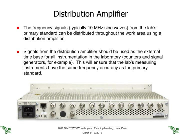 Distribution Amplifier