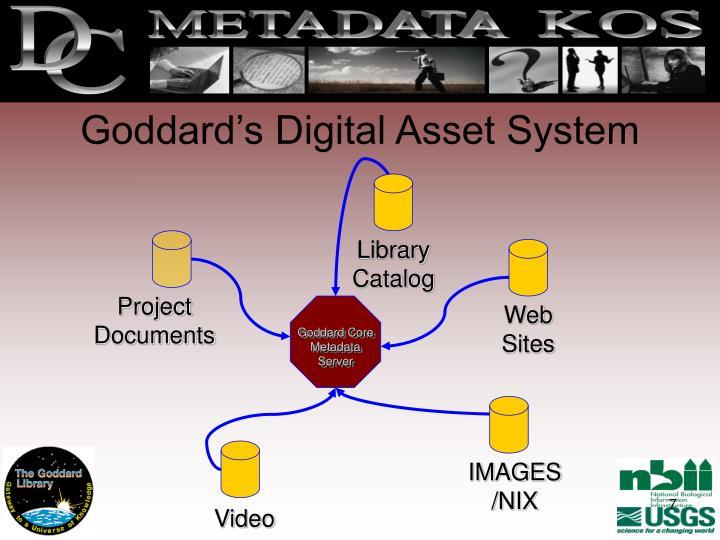 Goddard's Digital Asset System