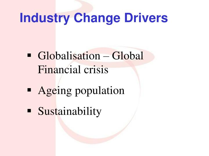 Industry Change Drivers