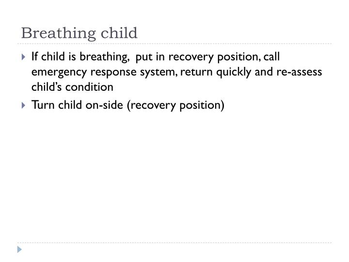 Breathing child