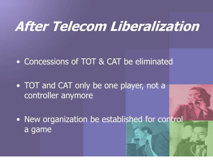 After Telecom Liberalization