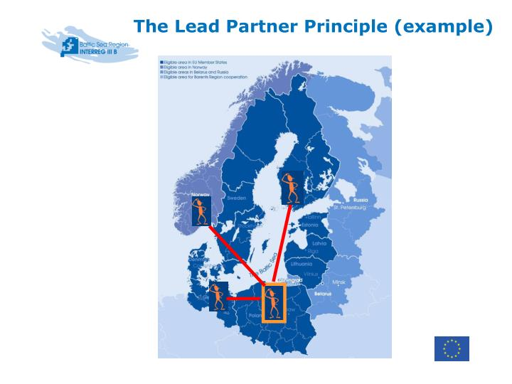 The Lead Partner Principle (example)
