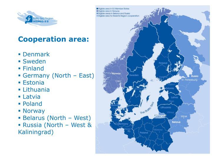Cooperation area: