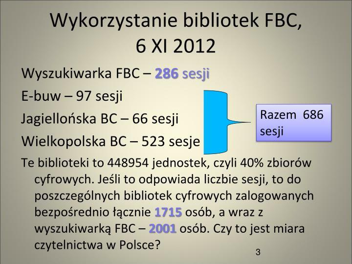 Wykorzystanie bibliotek FBC,