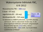 wykorzystanie bibliotek fbc 6 xi 2012