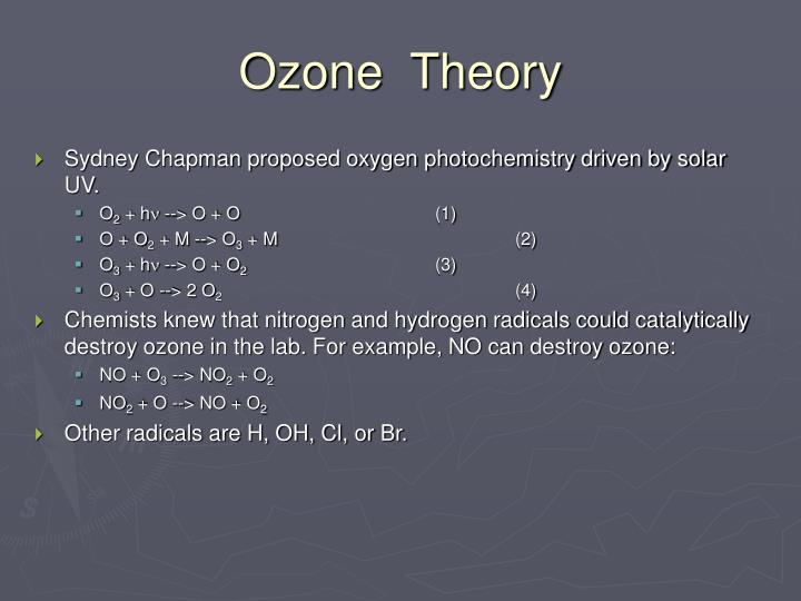 Ozone  Theory