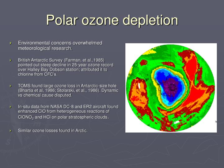 Polar ozone depletion