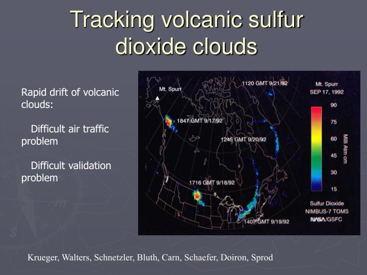 Tracking volcanic sulfur dioxide clouds
