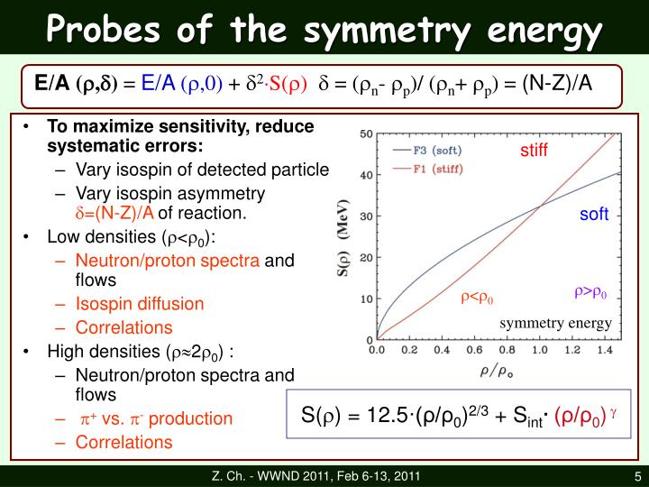 Probes of the symmetry energy