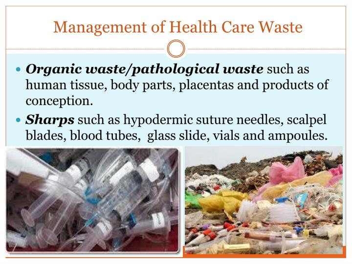 Health care waste management essay