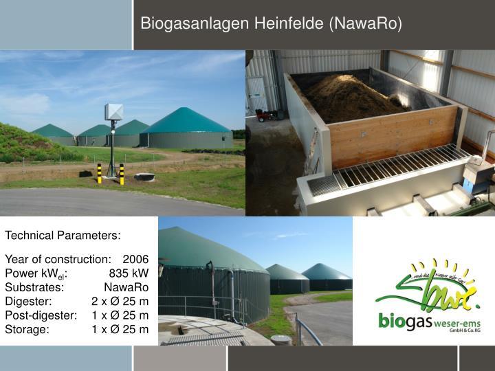 Biogasanlagen Heinfelde (NawaRo)
