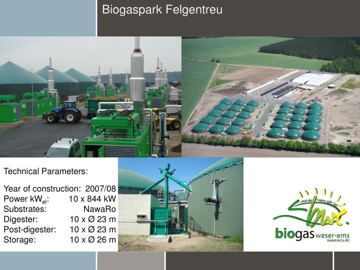 Biogaspark Felgentreu