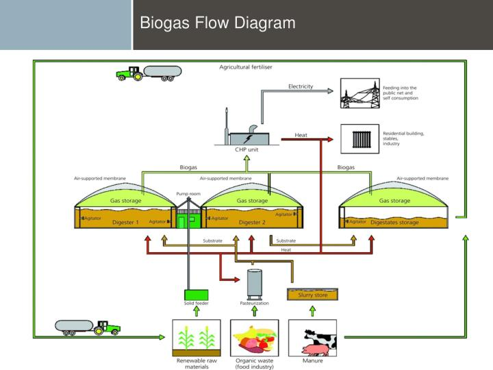 Biogas Flow Diagram