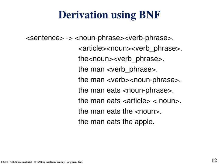 <sentence> -> <noun-phrase><verb-phrase>.