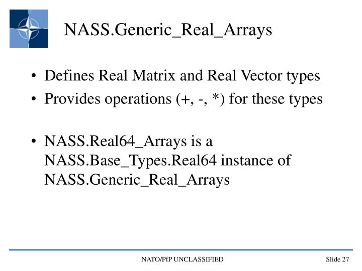 NASS.Generic_Real_Arrays