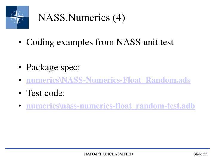 NASS.Numerics (4)