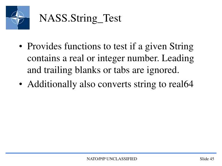 NASS.String_Test