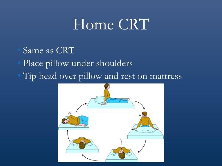 Home CRT