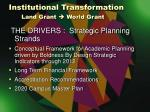 institutional transformation land grant world grant