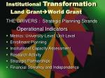 institutional transformation land grant world grant1
