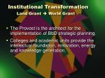 institutional transformation land grant world grant2
