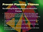 provost planning themes3