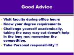 good advice1
