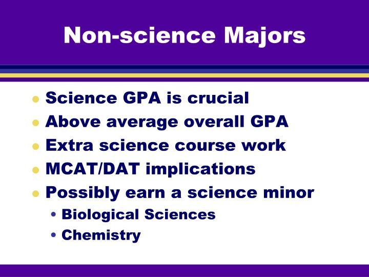 Non-science Majors