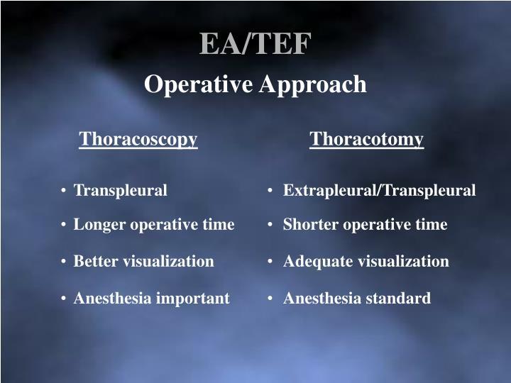 EA/TEF