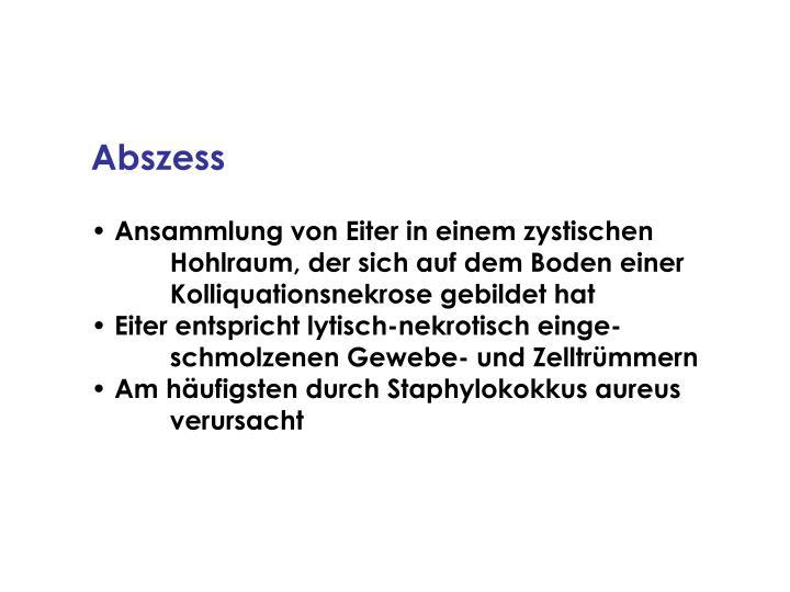 Abszess