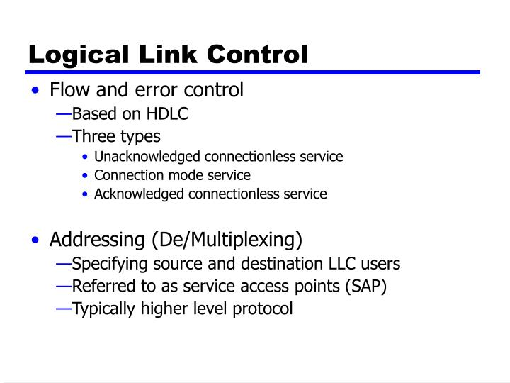 Logical Link Control