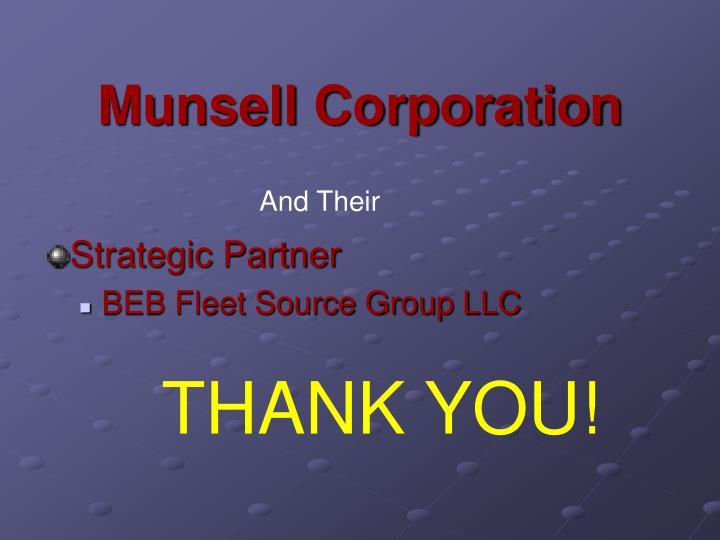 Munsell Corporation