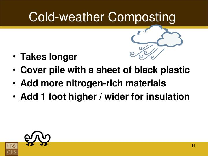 Cold-weather Composting