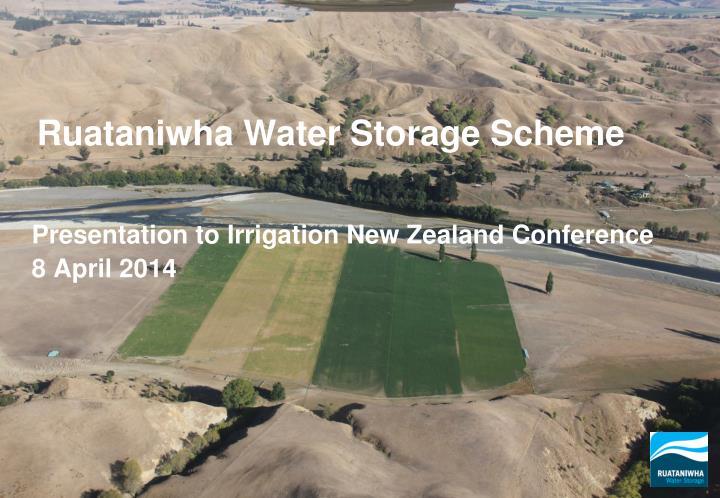 Ruataniwha Water Storage Scheme