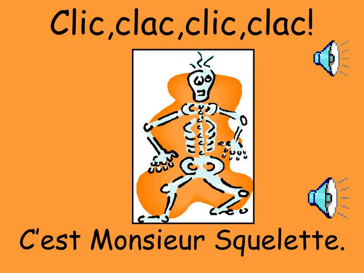 Clic,clac,clic,clac!