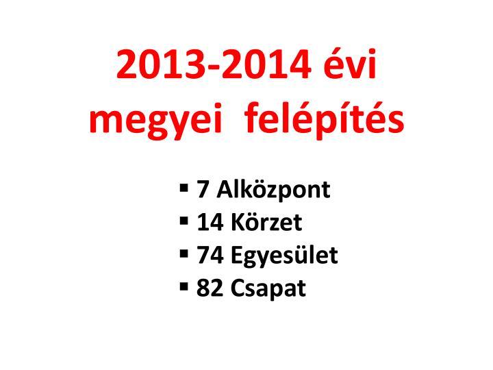 2013-2014 évi