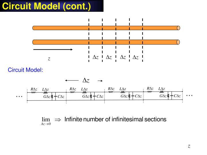 Circuit Model (cont.)