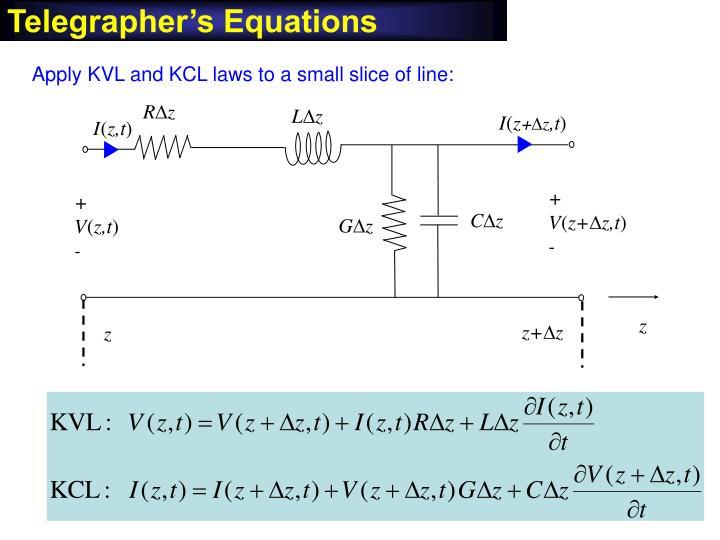 Telegrapher's Equations