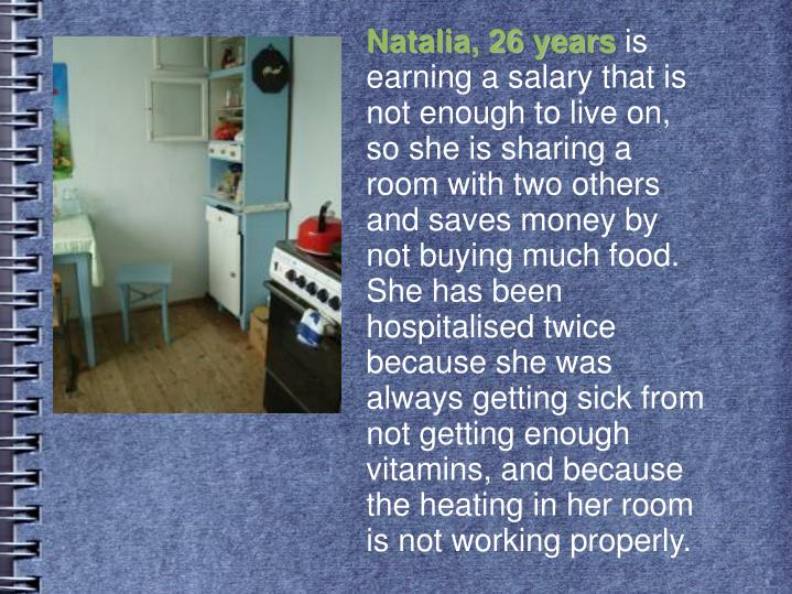 Natalia, 26 years