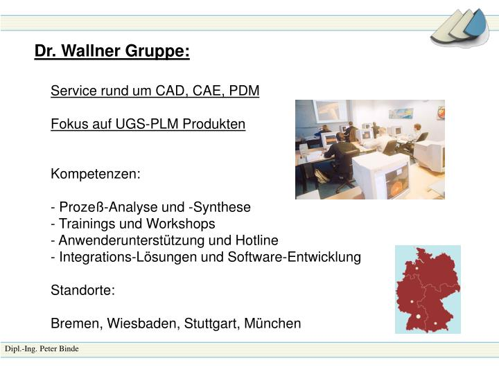 Dr. Wallner Gruppe: