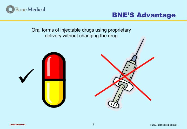 BNE'S Advantage