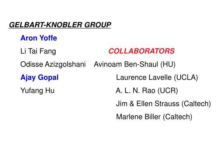 GELBART-KNOBLER GROUP