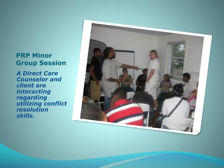 PRP Minor Group Session