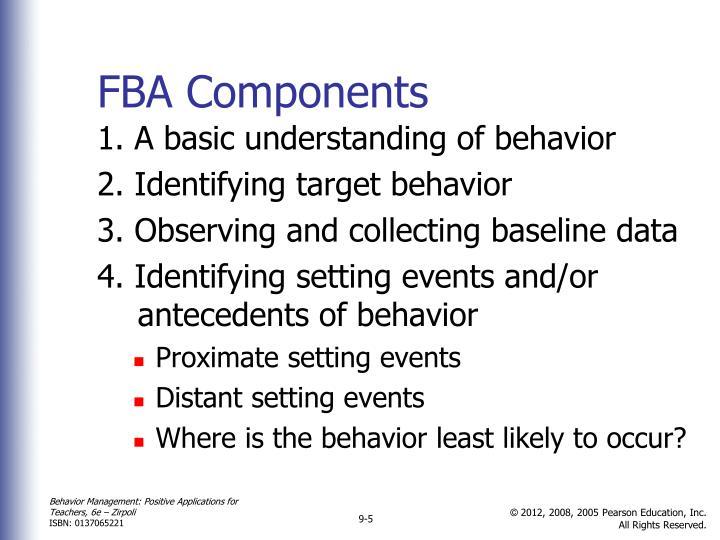FBA Components
